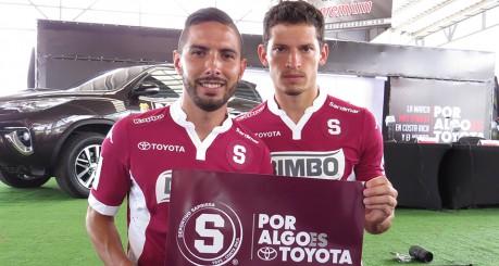 Marvin Angulo y Daniel Colindres
