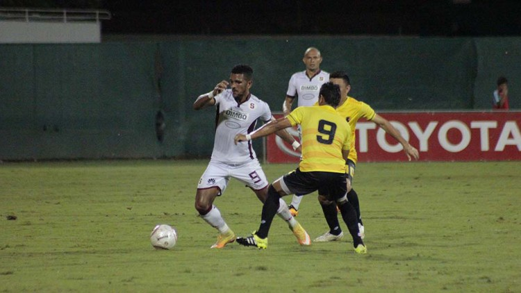 Saprissa enfrentó a Liberia en Copa La Anexión.