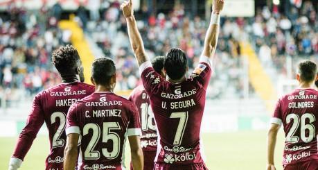 #Saprissa 2-0 Cartaginés. Jornada 15, Campeonato Verano 2017. Miércoles 8 de marzo, 2017. Foto: Luis Alvarado | PMEimages.com #QueLindoSerMorado #VamosMorados
