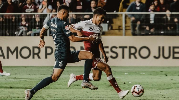 #Saprissa 1-0 Motagua. Final Liga CONCACAF, partido de ida. Estadio Ricardo Saprissa, 07 de noviembre, 2019. Foto: © Luis Alvarado |PMEimages.com#QuelindoserMorado